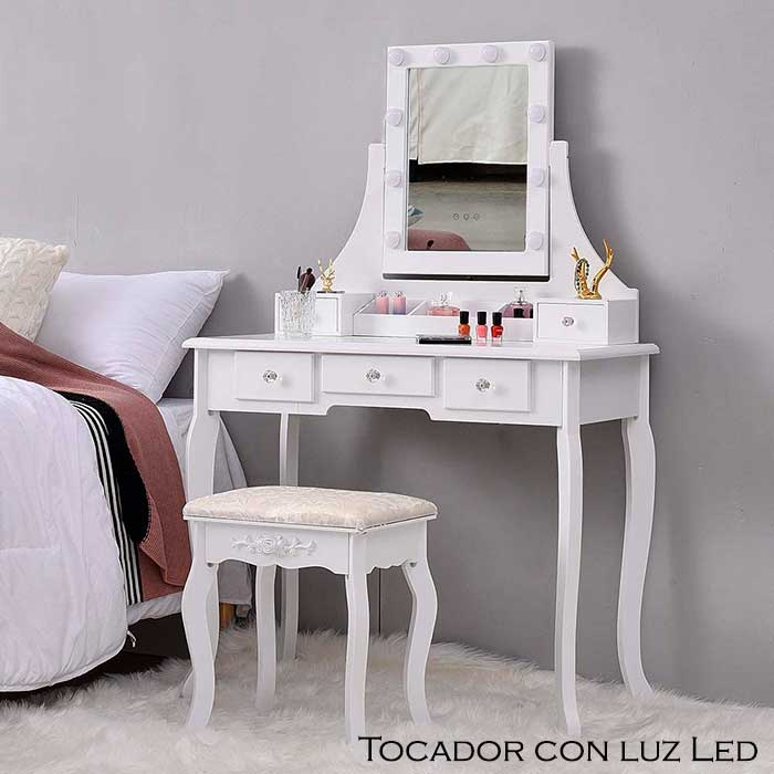 Tocadores con luces led