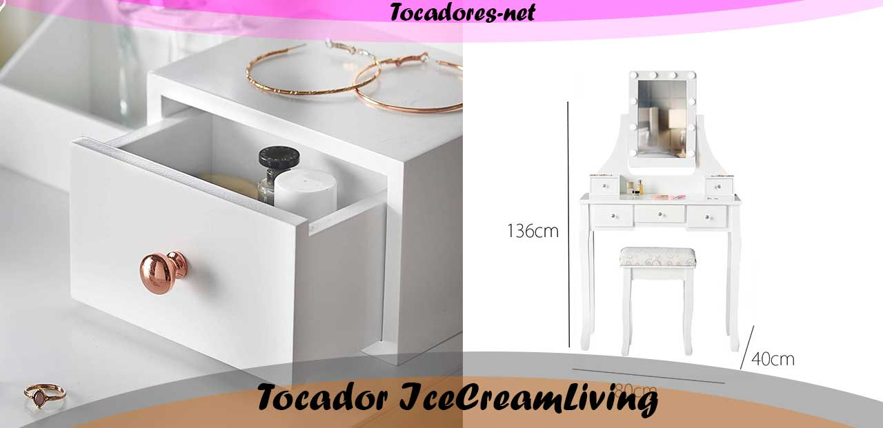 Tocador IceCreamLiving Hollywood